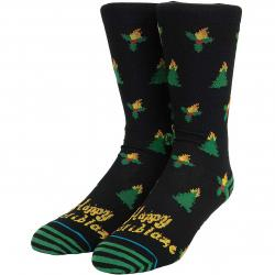 Stance Socken Holiblaze schwarz/grün