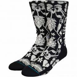 Stance Socken Island Flora Oblow schwarz