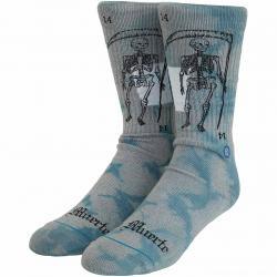 Stance Socken La Muerte grau/blau