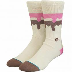 Stance Socken Melt Down beige