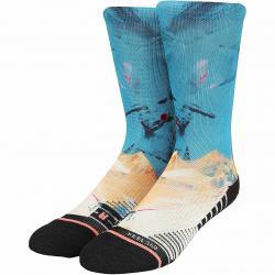 Stance Socken Moon Crystal mehrfarbig