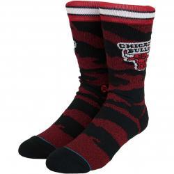 Stance Socken NBA Arena Bulls Camo Melange rot/schwarz