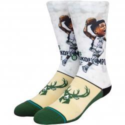 Stance Socken NBA Giannis Big Head mehrfarbig
