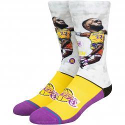 Stance Socken NBA LBJ Big Head mehrfarbig