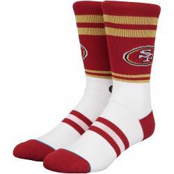 Stance Socken NFL San Francisco 49ers Logo rot
