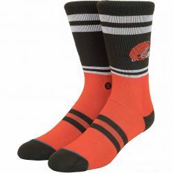 Stance Socken NFL Browns Logo braun