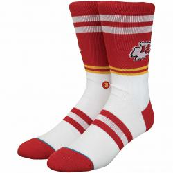 Stance Socken NFL Kansas City Chiefs Logo rot