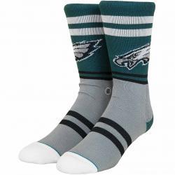 Stance Socken NFL Eagles Logo grün