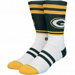 Stance Socken NFL Packers Logo grün/gelb
