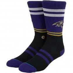 Stance Socken NFL Ravens Logo lila
