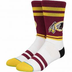 Stance Socken NFL Washington Redskins Logo weinrot