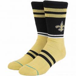 Stance Socken NFL Saints Logo schwarz/gelb