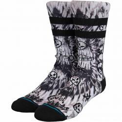Stance Socken No Brains schwarz/weiß
