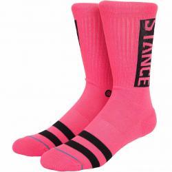 Stance Socken OG neon pink