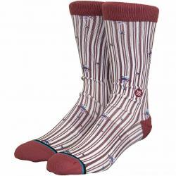 Stance Socken Reims rot