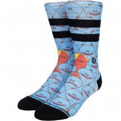 Socken Stance Rick & Morty Mr Meeseeks blau