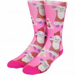 Stance Damen-Socken Santipaws pink