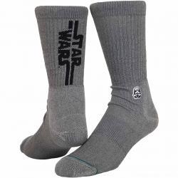 Stance Socken Star Wars Solid Trooper grau/schwarz