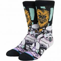 Stance Socken StarWars Warped Chewbacca schwarz
