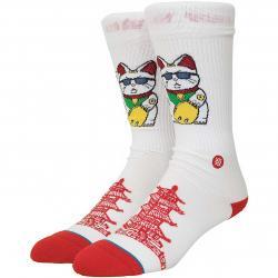 Stance Socken Thank You Enjoy weiß