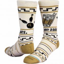 Stance Socken Big Lebowski The Dude beige
