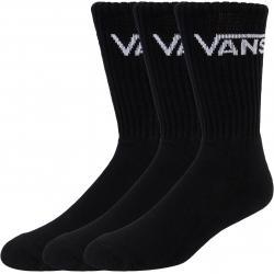 Vans Classic Crew 3er Pack Socken schwarz