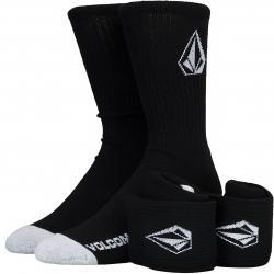 Volcom Socken Full Stone 3er schwarz