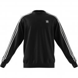 Adidas 3 Stripes Crew Sweatshirt Pullover schwarz