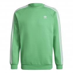 Adidas 3 Stripes Sweatshirt grün