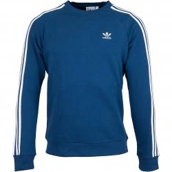 Adidas Originals Sweatshirt 3-Stripes marine/weiß