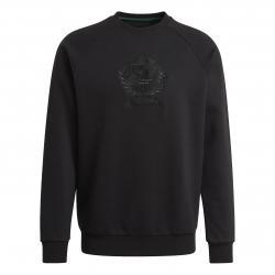 Adidas Crest Sweatshirt schwarz