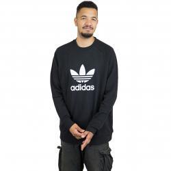 Adidas Originals Sweatshirt Trefoil schwarz