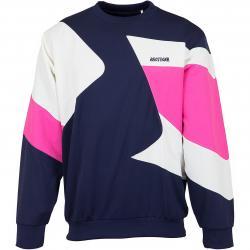 Asics Sweatshirt CB Jersey dunkelblau/weiß/pink