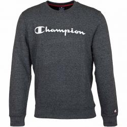 Champion Sweatshirt Logo dunkelgrau