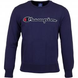 Champion Sweatshirt Logo dunkelblau