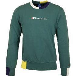 Champion Sweatshirt Logo grün