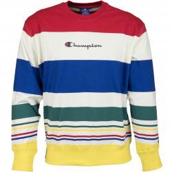 Champion Sweatshirt Logo mehrfarbig