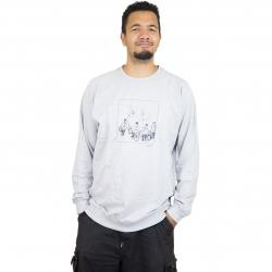Dedicated Sweatshirt Biker Gang grau