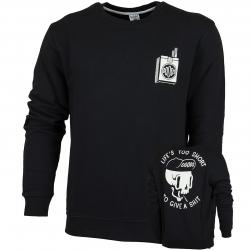 The Dudes Sweatshirt Too Short schwarz