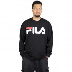 Fila Sweatshirt Urban Line Classic Logo schwarz