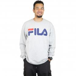 Fila Sweatshirt Urban Line Classic Logo hellgrau