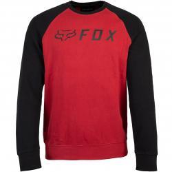 Fox Apex Raglan Herren Sweatshirt rot/schwarz