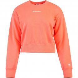 Champion Cropped Damen Sweatshirt rosa