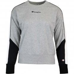 Champion Small Logo Sweatshirt Pullover grau