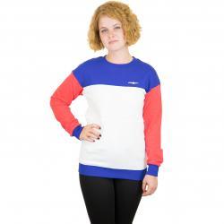 Illmatic Damen Sweatshirt Tillia Light rot/weiß/blau