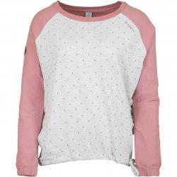 Mazine Damen Sweatshirt Tacoma Batwing mauve/weiß