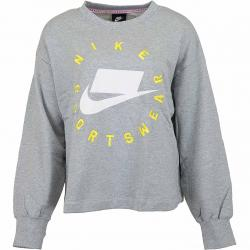 Nike Damen Sweatshirt Boyfriend French Terry grau