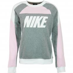 Nike Damen Sweatshirt CB Fleece pink/weiß