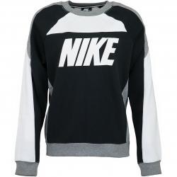 Nike Damen Sweatshirt CB Fleece weiß/schwarz