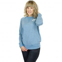 Nike Damen Sweatshirt Gym Vintage cerulean
